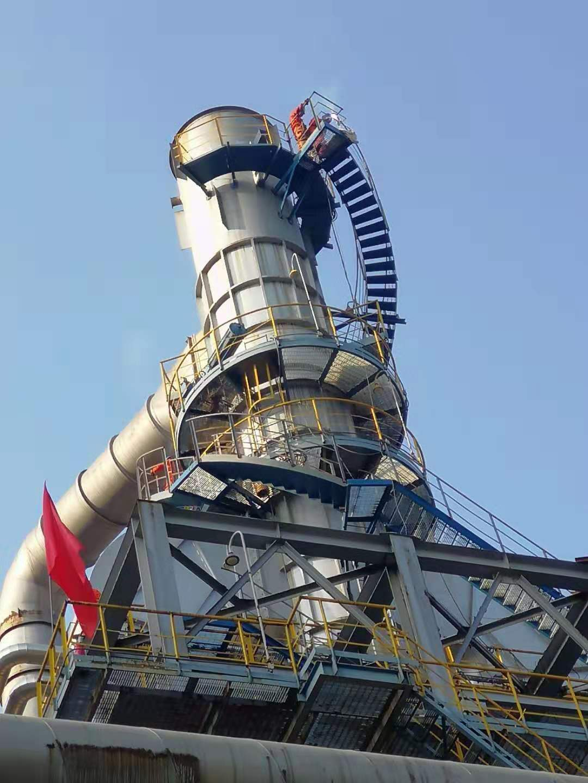 石化炼油厂凯发官网手机版app下载转梯安装